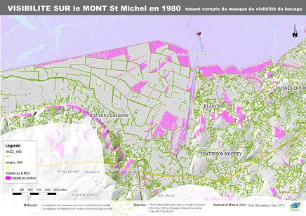 Etude de l'extension du site classé du Mont St Michel ( DREAL Bretagne et Basse Normandie)