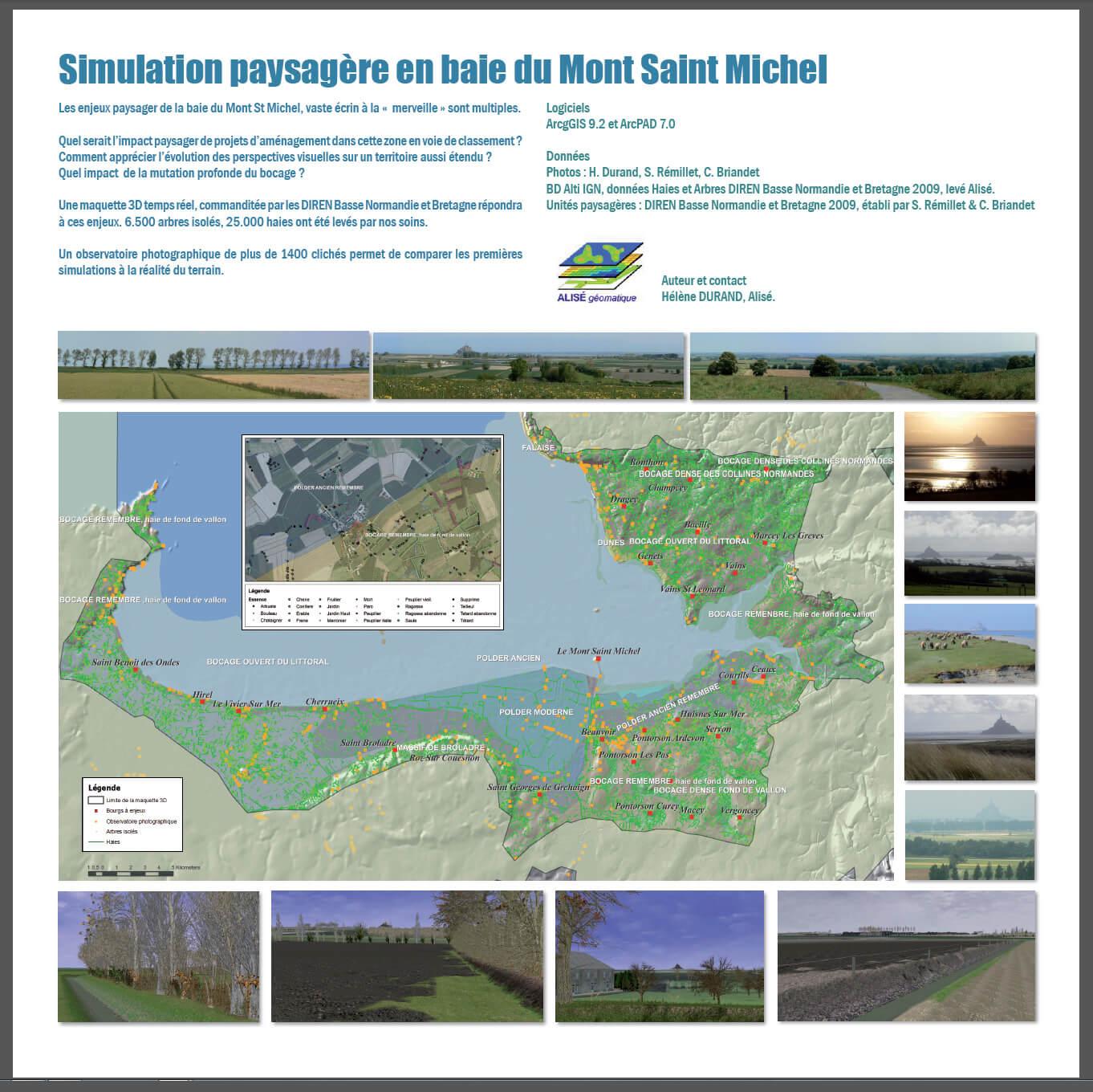 Simulation Mont Saint Michel